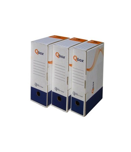 SCATOLE PER ARCHIVIO DEFINITIVO Q-BOX F.TO A4 DORSO 8CM