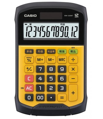 CALCOLATRICE DA TAVOLO WATER PROOF WM-320MT CASIO