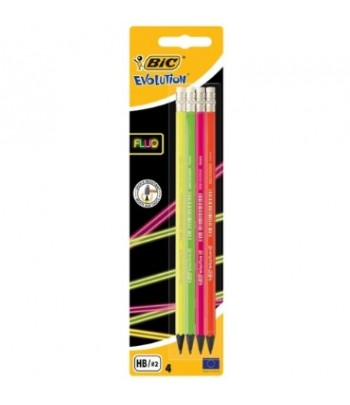 MATITE BIC EVOLUTION FLUO