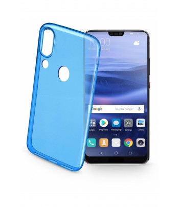 CUSTODIA BACK COLOR CASE P20 LITE BLU